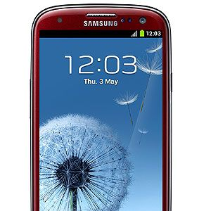 """<p>It's one of the world's most advanced smartphones and can do anything you need from taking amazing snaps with it's 8MP camera to allowing you to take charge with an on screen mulitasking function. It also comes in this hot red colour. Amaze!</p><p>Samsung Galaxy S III Red Garnet, from £499, <a title=""""http://www.carphonewarehouse.com/mobiles/mobile-phones/SAMSUNG-GALAXY_S_3#phonedetailstabs"""" href=""""http://www.carphonewarehouse.com/mobiles/mobile-phones/SAMSUNG-GALAXY_S_3#phonedetailstabs"""" target=""""_blank"""">exclusively at Carphone Warehouse</a></p><p> </p>"""
