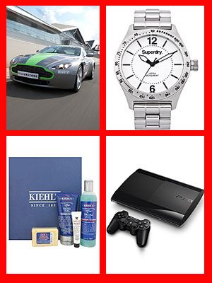 <p>Been with your man for a while and want to treat him to something special this Crimbo? Then check out these boyfriend gift ideas from pampering kits to fast cars, he won't be disappointed!</p> <p>We're also giving you the chance to win everything in every single gift guide we've put together this year. Yup, Christmas will literally come early for 14 Cosmo girls!<br /> <br />To be in with a chance of winning, just click to the end of our guide where you'll find all the info you need.</p> <p> </p>