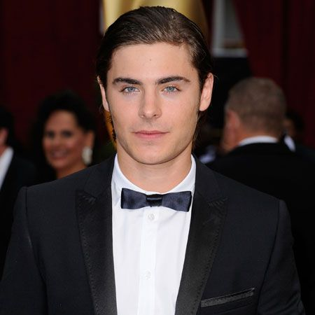 The <em>High School Musical</em> hottie should get an A+ for personal styling - his slicked-back hair and flawless face has got our pulse rate up.  <br />