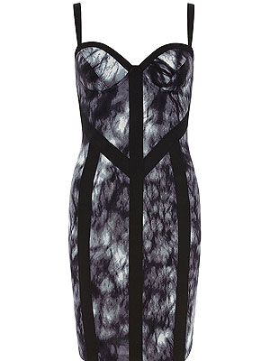 "<p>This ultra fitted bodycon dress from Dorothy Perkins' Kardashian Kollection is perfect for creating Kardashian-esque curves. Unfort we can't guarantee a Kardashian-esque lifestyle, but hey! A gal can dream...</p> <p>Kardashian smoke print dress, £50, <a title=""http://www.dorothyperkins.com/webapp/wcs/stores/servlet/ProductDisplay?beginIndex=1&viewAllFlag=&catalogId=33053&storeId=12552&productId=7861815&langId=-1&sort_field=Relevance&categoryId=827081&parent_categoryId=795535&pageSize=200 "" href=""http://www.dorothyperkins.com/webapp/wcs/stores/servlet/ProductDisplay?beginIndex=1&viewAllFlag=&catalogId=33053&storeId=12552&productId=7861815&langId=-1&sort_field=Relevance&categoryId=827081&parent_categoryId=795535&pageSize=200%20"" target=""_blank"">Dorothy Perkins</a></p> <p> </p> <p><br /><br /></p>"