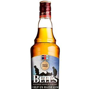 """<p>Whether it's Scotch on the rocks or added to a Hot Toddy, you can't go wrong with Bell's. A percentage of proceeds from this limited edition bottle will be donated to the Service charity, Help for Heroes. To get more info on this campaign, visit <a href=""""http://www.bells.co.uk/helpforheroes/"""" target=""""_blank"""">bells.co.uk</a>.<br /><br />Bell's Whisky, £16.29 for 70cl, <a href=""""http://www.morrisons.co.uk/"""" target=""""_blank"""">Morrisons</a></p><p> </p><p> </p>"""