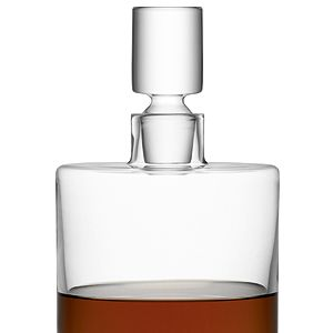 """<p>Store your alcohol in style with this glass decanter. It's a modern twist on the traditional crystal versions.<br /><br />LSA Decanter, £57.50, <a href=""""http://www.beautifulhomesdirect.com/LSABorisDecanter-clear.htm"""" target=""""_blank"""">Beautiful Homes Direct</a></p><p> </p>"""