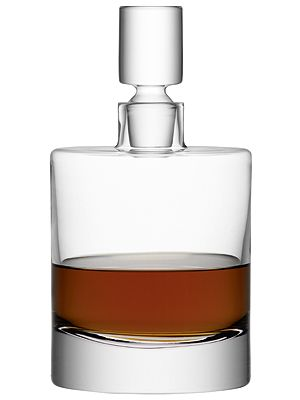 "<p>Store your alcohol in style with this glass decanter. It's a modern twist on the traditional crystal versions.<br /><br />LSA Decanter, £57.50, <a href=""http://www.beautifulhomesdirect.com/LSABorisDecanter-clear.htm"" target=""_blank"">Beautiful Homes Direct</a></p> <p> </p>"