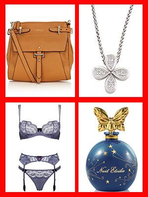 <p>Diamonds, leather, cashmere and champagne are all a girl's best friends. Welcome to Cosmo's luxury Christmas gift guide. There are more than a few beauties in here we reckon you'll want to email to add to your own Christmas list, so get ready to email links to your boyfriend, friends and family! And don't forget, you can win absolutely everything in this gallery, worth a total of £4842! Scroll through to find out how. Good luck! <br /><br /></p> <p> </p>