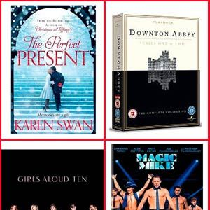 <p>Everyone has a friend who is a telly addict, or a music lover, or a book worm. So we've accumulated some of the best releases to inspire you with what to buy them. And if you're lucky, you might win the lot!<br /><br /><strong>Click through the gallery to find out how all of the goodies can be won…</strong><br /><br /></p>
