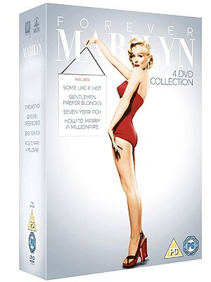"""<p>Who doesn't love Marilyn? If you know someone who's a massive fan of the Hollywood icon, this is the present for them! With four titles; Gentlemen Prefer Blondes, How To Marry A Millionaire, The Seven Year Itch and Some Like It Hot, they'll love it!</p> <p>Forever Marilyn, £15, <a title=""""http://www.amazon.co.uk/Forever-Marilyn-Four-Film-Collection/dp/B008B4MEH4/ref=sr_1_1?s=dvd&ie=UTF8&qid=1354636504&sr=1-1"""" href=""""http://www.amazon.co.uk/Forever-Marilyn-Four-Film-Collection/dp/B008B4MEH4/ref=sr_1_1?s=dvd&ie=UTF8&qid=1354636504&sr=1-1"""" target=""""_blank"""">Amazon</a></p> <p><span class=""""fb_frame_side_right_span""""><strong>Click through the gallery to find out how all of the goodies can be won…</strong></span></p>"""