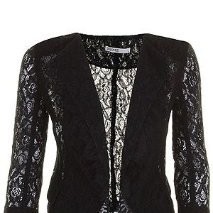 "<p>Dare black lace London blazer, £59, <a title=""Darling"" href=""http://www.darlingclothes.com/product/beloved/london-blazer/4432/%20"" target=""_blank"">Darling </a></p>"