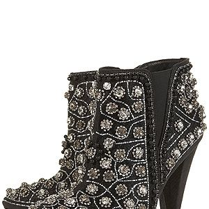 """<p>WOWSERS. These are what we call pimped-up kicks. Bring some bling into your life with these Balmain-inspired boots - perfect for amping up trousers if you're a dress-phobic at party season.</p><p>AVANT embellished boots, £120, <a title=""""http://www.topshop.com/webapp/wcs/stores/servlet/ProductDisplay?beginIndex=1&viewAllFlag=&catalogId=33057&storeId=12556&productId=8176052&langId=-1&sort_field=Relevance&categoryId=277012&parent_categoryId=208491&pageSize=200&siteID=TnL5HPStwNw-sqBgDJF_PEeSe1N4sOZztw&cmpid=ukls_deeplink&_$ja=tsid:19906
