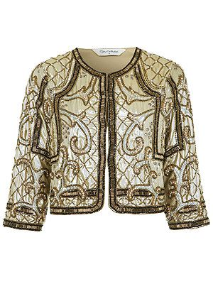 "<p>Now this is what we call a Trophy Jacket. This beautiful beaded design looks vintage - and we won't tell if you don't. Your perfect go-to cover up to wear with EVERYTHING this party season.</p> <p>Baroque Embellished Jacket, £85, <a title=""http://www.missselfridge.com/webapp/wcs/stores/servlet/ProductDisplay?beginIndex=0&viewAllFlag=&catalogId=33055&storeId=12554&productId=8257194&langId=-1&categoryId=&parent_category_rn=&searchTerm=baroque%20embellished%20jacket&resultCount=1 "" href=""http://www.missselfridge.com/webapp/wcs/stores/servlet/ProductDisplay?beginIndex=0&viewAllFlag=&catalogId=33055&storeId=12554&productId=8257194&langId=-1&categoryId=&parent_category_rn=&searchTerm=baroque%20embellished%20jacket&resultCount=1%20"" target=""_blank"">Miss Selfridge</a><br /><br /></p>"