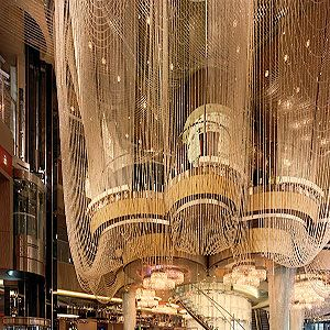 """<p>Ever wondered what it feels like to sit inside a chandelier?</p><p>This beautiful three-floor bar is surrounded by shimmering strands of around two million beaded crystals&#x3B; pretty breathtaking from the outside - even better from the inside with a cocktail in hand. And cocktails are what this bar does best.</p><p>We sat on the middle floor&#x3B; a high-tech cocktail haven where mixologist Mariena Mercer's most weird and wonderful concoctions come to life.</p><p>One gem you won't find on the menu is The Verbena. It's become popular by word of mouth (how all cool things become popular, right?) due to it's szechuan button garnish&#x3B; an edible flower that numbs your mouth and intensifies the taste of the cocktail – sexy science at its best!</p><p><br /><a title=""""http://cosmopolitanlasvegas.com"""" href=""""http://cosmopolitanlasvegas.com"""" target=""""_blank"""">The Chandelier at The Cosmopolitan of Las Vegas</a></p>"""