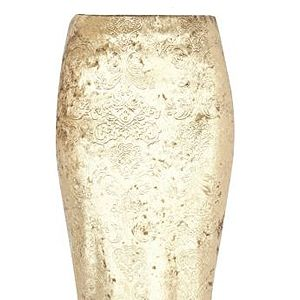 """<p>Velvet, baroque and gold? Wow, we're good to you.<br /> <br /> Pencil skirt, £25, <a href=""""http://www.riverisland.com/women/skirts/tube--pencil-skirts/gold-baroque-velvet-pencil-skirt-625930"""" target=""""_blank"""">River Island</a></p>"""