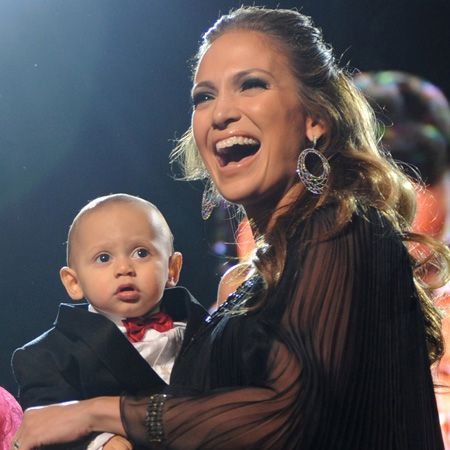 Not content with staring in a string of hit movies, being a singing sensation, launching a fashion line and perfume, the brilliant business brain behind Jennifer Lopez turned her talents to mummyhood when she gave birth to her twins Emme and Max, (left) last year  <br />