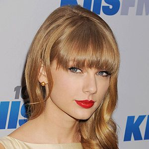 <p>December's Cosmo cover girl Taylor Swift totally perfected her signature hairstyle this year. We love that soft fronge fringe she wears with smooth curls down one side. She always pairs it with a soft cat-eye and a bold lip colour. We're seriously considering a fringe cut in the new year (if it catches the eye of Harry Styles...)</p>
