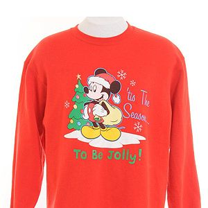 """<p>Vintage Mickey Mouse Christmas sweatshirt, £16, <a title=""""Beyond Retro"""" href=""""http://www.beyondretro.com/en/catalog/product/view/id/25992/s/christmas-sweatshirt-red-with-mickey-mouse-print/%20"""" target=""""_blank"""">Beyond Retro </a></p>"""