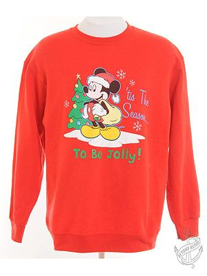 "<p>Vintage Mickey Mouse Christmas sweatshirt, £16, <a title=""Beyond Retro"" href=""http://www.beyondretro.com/en/catalog/product/view/id/25992/s/christmas-sweatshirt-red-with-mickey-mouse-print/%20"" target=""_blank"">Beyond Retro </a></p>"