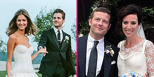 <p>It's almost the end of 2012, and what a fantastic year it was! Whether it's Blake Lively and Ryan Reynolds' shot-gun wedding or Justin Timberlake and Jessica Biel's Italian love affair, we couldn't get enough of all the celebrity weddings this year!</p> <p>Let's take a trip down memory lane and see the star-studded A-list couples that walked down the aisle. Check out Cosmo's round-up of the hottest celebrity weddings for year 2012.</p>