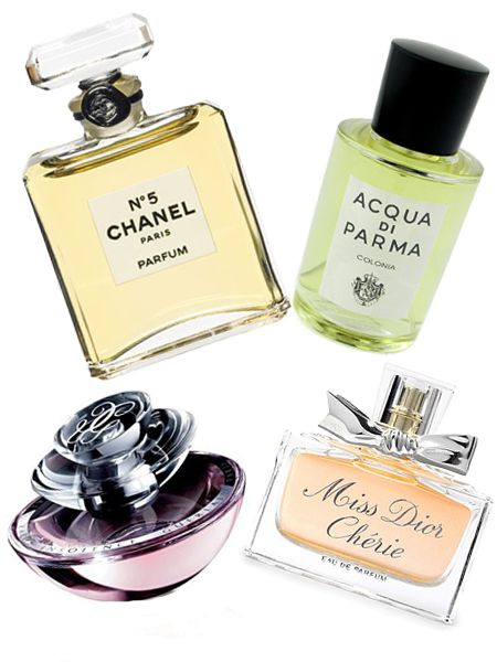 """Every girl should have her own signature scent so splash out on your favourite designer perfume or timeless classics such as Miss Dior, Chanel No5 or Allure, Aqua Di Parma or a Guerlain classic. A spritz of your favourite scent is the perfect pick me-up.<br /><br /><a target=""""_blank"""" href=""""http://www.boots.com/webapp/wcs/stores/servlet/CategoryDisplay?categoryParentId=3633&storeId=10052&categoryId=4713"""">www.boots.com</a><br /><br />"""