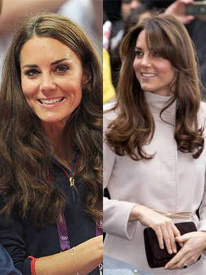 <p>Not only did Kate Middleton announce to the world she's pregnant in 2012, she also got herself a very 70s Farrah Fawcett-inspired fringe hairstyle.</p>