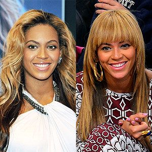 <p>In 2012 singer Beyonce started a personal Tumblr account and is in the process of building a documentary about herself. We absolutely love her fierce fringe hairstyle here, don't you?</p>