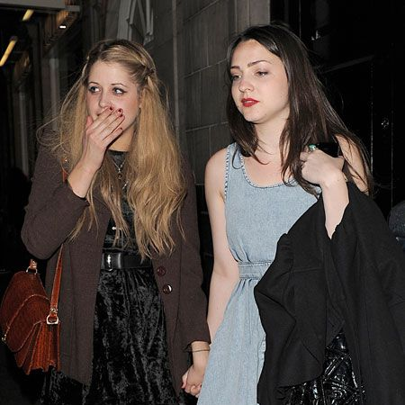 Peaches Geldof party-hopped last night, going from the Uniqlo collection launch in Somerset House to the Barbie launch at Mahiki. We're loving her girlfriend's Topshop stone washed denim dress...  <br />