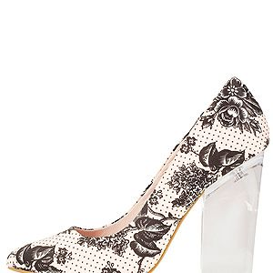 """<p>Plastic is set to be fantastic for SS13, so make sure your accessories are see through to, er, see you through the season. We love this printed pair of perspex heels from - where else? - Toppers of course.<br /><br />Perspex heels, £55, <a href=""""http://www.topshop.com/webapp/wcs/stores/servlet/ProductDisplay?beginIndex=1&viewAllFlag=&catalogId=33057&storeId=12556&productId=8769688&langId=-1&sort_field=Relevance&categoryId=277012&parent_categoryId=208491&pageSize=200%20"""" target=""""_blank"""">Topshop</a></p>"""