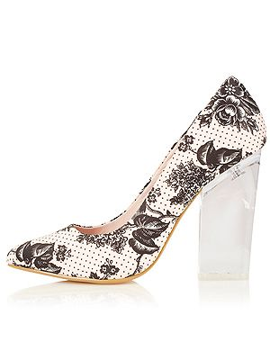 "<p>Plastic is set to be fantastic for SS13, so make sure your accessories are see through to, er, see you through the season. We love this printed pair of perspex heels from - where else? - Toppers of course.<br /><br />Perspex heels, £55, <a href=""http://www.topshop.com/webapp/wcs/stores/servlet/ProductDisplay?beginIndex=1&viewAllFlag=&catalogId=33057&storeId=12556&productId=8769688&langId=-1&sort_field=Relevance&categoryId=277012&parent_categoryId=208491&pageSize=200%20"" target=""_blank"">Topshop</a></p>"