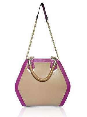 "<p>With the catwalks abuzz with hexagonal shapes, the Eastcote bag is a quirky shaped, colour block, grab bag sure to start your spring with a style statement!</p> <p>LYDC Eastcote Bag, £38, <a href=""http://www.brandvillage.co.uk/products/The-Eastcote-Bag-%252d-LYDC-Khaki-Hexagonal-Grab-Bag.html%20"" target=""_blank"">Brand Village </a></p>"