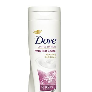 """<p>Nothing's more unattractive than dry, cracked skin. It's time to indulge in some super creamy, nourishing bodycare. Dove's limited edition nourishing body lotion with DeepCare complex helps your skin survive the cold winter breeze. It also smells amazing!</p><p>Dove Winter Care Nourishing Body Lotion, £3.99, <a href=""""http://www.boots.com/en/Dove-Winter-Care-Nourishing-Body-Lotion-For-All-Skin-Types-250ml_1282747/"""" target=""""_blank"""">Boots</a></p>"""