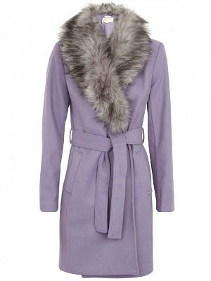"""<p>Ooh! This adorbs faux fur trimmed coat by one of our fave designers, Michael Kors, is a little bit 70s-inspired a a whole lot lovely! Wear with skinny indigo denims, knee-high boots and a fedora in a contrasting colour for a too-cool-for-school look.</p><p>MICHAEL by Michael Kors wool blend felt coat, £155 (from £399), <a title=""""Harvey Nichols"""" href=""""http://www.harveynichols.com/womens/e-boutiques/sale/coats/s426128-wool-blend-felt-coat.html?colour=PURPLE%20"""" target=""""_blank"""">Harvey Nichols</a></p>"""