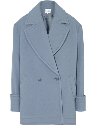 "<p>This powdery blue oversized coat from Reiss is an absolute beaut - we almost want it to be cold all the time so we can snuggle up in this chic style forves! And even better - have you seen the price? *sound the style steal klaxon!*</p> <p>Lois oversized coat, £73 (from £245), <a title=""Reiss"" href=""http://www.reiss.com/womens/reiss-sale/lois/soft-blue/#%20"" target=""_blank"">Reiss </a></p>"