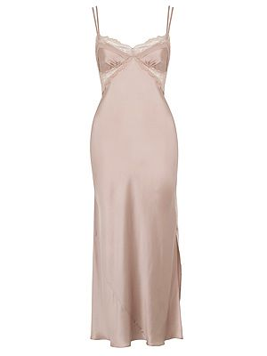 <p>Rosie for Autograph Silk Nightdress £49</p>