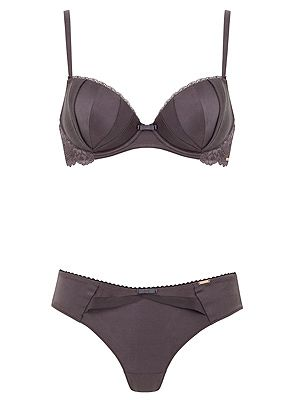 <p>Rosie for Autograph Pad Bra £22.50 and Brazilian Knicker £12.50</p>
