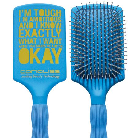 """Corioliss Professional Ceramic Ionic Paddle Brush, £9.99, 0127 346 1111, <a target=""""_blank"""" href=""""http://shop.corioliss.com/"""">www.corioliss.com</a> - the barrel incorporates a Thermo-Chromic indicator that changes from black to white when the brush achieves the perfect working temperature.  <br />"""