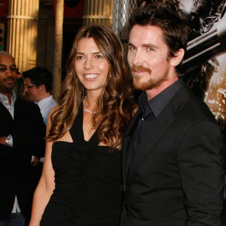 A proud-looking Christian Bale and wife Sibi Blazic attended his premiere for 'Terminator Salvation' in LA. He looks a bit happier than he sounded during that onset rant!  <br />