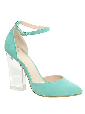 "<p>We're saying a little fashion prayer that these pretty perspex heels will be ours come pay day! From the mint green hue, through to the oh-so now see-through heels, we want these little gems REAL BAD.</p> <p>PRAYER Pointed High Heels, £40, <a title=""http://www.asos.com/ASOS/ASOS-PRAYER-Pointed-High-Heels/Prod/pgeproduct.aspx?iid=2596539&cid=13497&sh=0&pge=0&pgesize=-1&sort=-1&clr=Mint "" href=""http://www.asos.com/ASOS/ASOS-PRAYER-Pointed-High-Heels/Prod/pgeproduct.aspx?iid=2596539&cid=13497&sh=0&pge=0&pgesize=-1&sort=-1&clr=Mint%20"" target=""_blank"">ASOS</a><br /><br /></p>"