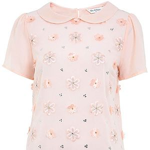 <p>It's pretty and girly and PERFECT for this Spring! With a bit of sparkle added too, this little tee is the perfect way to get your winter wardrobe ready for SS13.</p>