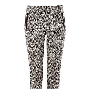 """<p>Everyone needs a pair of statement trousers and these are perfect. With their monochrome printed fabric, and flattering style they are the ideal skinny cigarette trouser. </p><p>Trousers, £48, <a href=""""http://www.warehouse.co.uk/heavy-zip-detail-trousers/trousers-&-leggings/warehouse/fcp-product/4333063977"""" target=""""_blank"""">Warehouse</a></p>"""