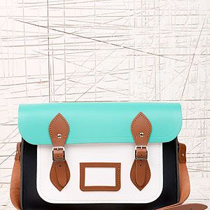 """<p>This satchel is fresh for spring - perfect for adding a preppy slant to your everyday look. What we'd call geek chic at it's finest.</p><p>Cambridge Satchel Company 13 Inch Satchel, £125, <a href=""""http://www.urbanoutfitters.co.uk/cambridge-satchel-company-13-inch-satchel/invt/5771466149614/&colour=Green%20"""" target=""""_blank"""">Urban Outfitters</a></p>"""