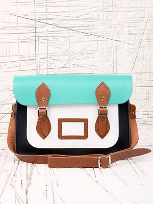 "<p>This satchel is fresh for spring - perfect for adding a preppy slant to your everyday look. What we'd call geek chic at it's finest.</p> <p>Cambridge Satchel Company 13 Inch Satchel, £125, <a href=""http://www.urbanoutfitters.co.uk/cambridge-satchel-company-13-inch-satchel/invt/5771466149614/&colour=Green%20"" target=""_blank"">Urban Outfitters</a></p>"