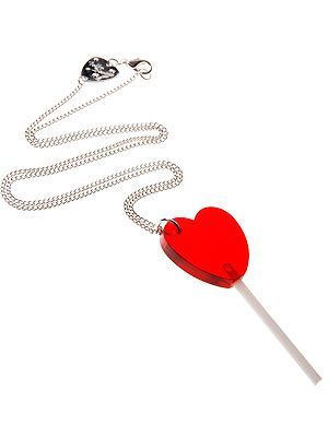 "<p>Is it a lollipop? Is it a necklace? Frankly, when it's this pretty, who cares?</p> <p>Lolly necklace, £30, <a href=""https://www.tattydevine.com/lolly-necklace.html"" target=""_blank"">Tatty Devine</a></p>"