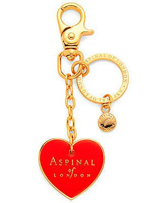 "<p>If your girlfriend is anything like us, she'll spend ages sifting through all the contents of her handbag to find her keys (yes we do need all of our makeup guys!). Make her job easier AND show some love with this cutesie Aspinal keyring which will make her keys stand out. Simples. </p> <p>Valentine keyring, £35, <a href=""http://www.aspinaloflondon.com/eshop-catalogue/ladies-collection/leather-handbags-and-evening-bags/handbag-charms-and-keyrings/6944-aspinal-valentine-heart-handbag-charm-and-keyring"" target=""_blank"">Aspinal</a></p>"