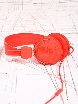 """<p>As far as headphones go, these are probably the coolest ones we've seen. Not only are they a pretty red, they'll give his favourite tunes a crisp sound. They come in pink as well if you want matching ones!</p> <p>Headphones, £30, <a href=""""http://www.urbanoutfitters.co.uk/wesc-conga-red-headphones/invt/5560443080005/&colour=Red"""" target=""""_blank"""">Urban Outfitters</a></p>"""