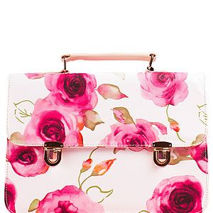 """<p>We can't wait to add this arm candy to our spring wardrobe. Über-girly meets preppy chic in this floral satchel from Daisystreet.co.uk.</p><p>Satchel, £17.99, <a href=""""http://www.daisystreet.co.uk/nora-floral-leather-satchel-in-white"""" target=""""_blank"""">Daisystreet.co.uk</a></p>"""