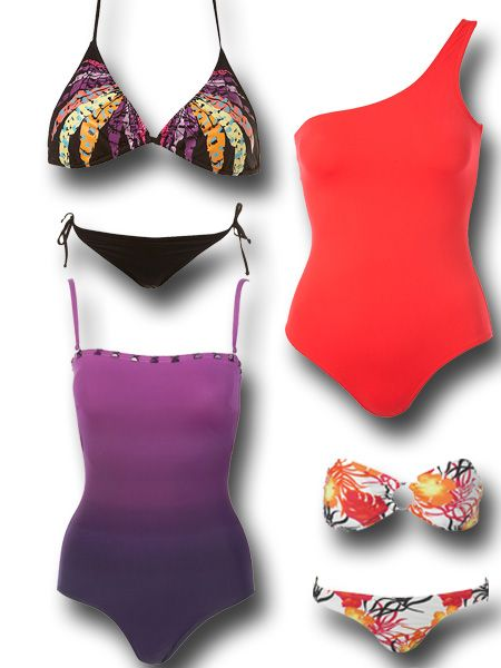 22e44be4c8511 Swimwear to suit pear shaped figures