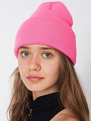 <p>Beanies were the headgear <em>de rigeur</em> this London Fashion Week, in all shades but coming in one size only: Oversized - and worn pushed back a la Cara Delevigne. We even started playing fashion bingo with this particular American Apparel style as it was EVERYWHERE.</p>