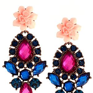 "<p>We need these fabulous baroque earrings in our life. The flower stud, fuschia and blue gemstones and baroque style. Want. Now. Please.<br /><br />Flower Stone Drop Earrings, £18, <a href=""http://www.asos.com/ASOS/ASOS-Flower-Stone-Drop-Earrings/Prod/pgeproduct.aspx?iid=2563401&cid=6992&sh=0&pge=1&pgesize=200&sort=-1&clr=Multi%20"" target=""_blank"">ASOS</a></p>"