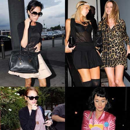 Click through and see the celebs posing for the paps this week...<br />