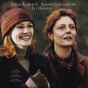 """<p>Julia Roberts and Susan Sarandon's film Stepmom is a total must-see for those who haven't already - and a must-see-again for those who have! This one's all about children Anna and Ben trying to come to terms with their parents' divorce, trying to support their mother AND trying to reconcile the fact that they're kinda sorta starting to like their not-so-wicked stepmother too. But, when mom suddenly gets diagnosed with lymphoma, all rules are off and relationships have to change, drastically.</p><p>Bring tissues, guys. This one's a definite weepy.</p><p>£3.99, <a title=""""Stepmom"""" href=""""http://www.play.com/DVD/DVD/4-/602042/Stepmom/Product.html"""" target=""""_blank"""">Play</a></p>"""