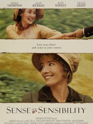 <p>There's nothing we love more than a good period drama, so it makes sense (ha!) that Sense And Sensibility is on this list. Emma Thompson and Kate Winslet play the chalk-and-cheese daughters of Gemma Jones (yup, she DOES play Bridget Jones' mum!), struggling to come to terms with the fact their fortunes have changed dramatically following the death of their father. Will the arrival of a dashing Mr Willoughby change everything - or is he a little more of a rogue than they first presume?</p>