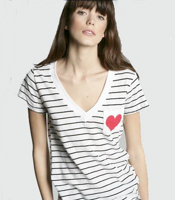 "Stripey Tee, £28, <a target=""_blank"" href=""http://www.urbanoutfitters.co.uk/V-Neck-Stripe-Pocket-Tee/invt/5111415169618&bklist=icat,5,shop,womens,womensclothing,wtees#"">Urban Outfitters</a> - This tee-shirt is so laid back and cool- perfect for those lazy Sunday afternoons<br /><br />"